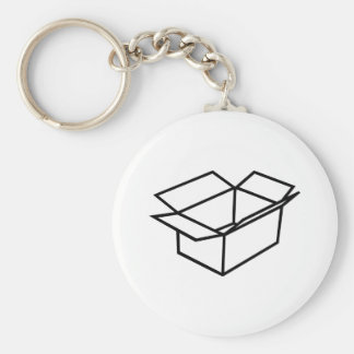 Caja de cartón llaveros