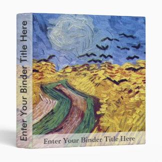 Caja de cereal con los cuervos de Vincent van Gogh