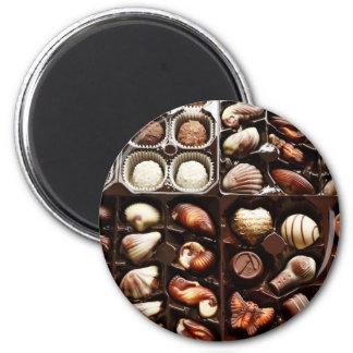 Caja de chocolate imán de frigorifico