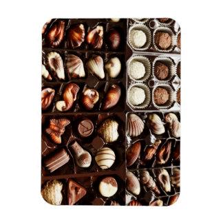Caja de chocolate imán de vinilo