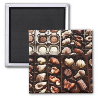 Caja de chocolate iman para frigorífico