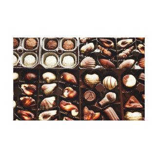 Caja de chocolate impresión en lona
