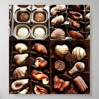 Caja de chocolate poster
