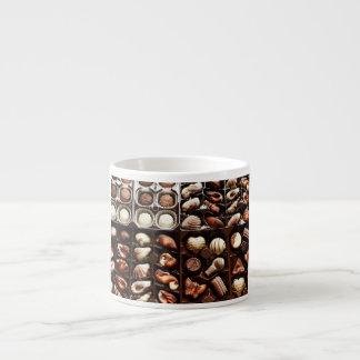 Caja de chocolate tazas espresso