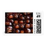 Caja de chocolates, caramelo de chocolate de la sello