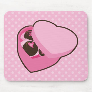 Caja de chocolates mouse pads