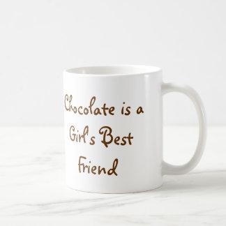 Caja de chocolates taza básica blanca