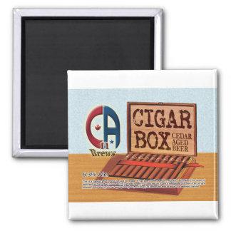 Caja de cigarros imán cuadrado