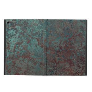 """Caja """"de cobre"""" del aire del iPad de la corrosión"""