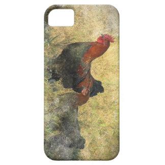 Caja de cobre negra de Marans Iphone del Grunge Funda Para iPhone 5 Barely There