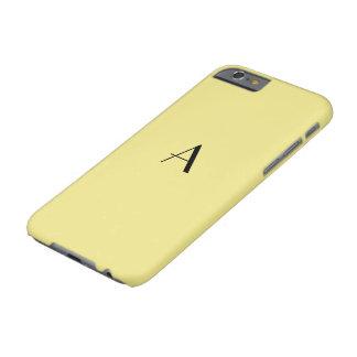 Caja de color caqui en colores pastel femenina funda para iPhone 6 barely there