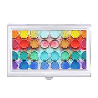 Caja de color de la pintura de la diversión cajas de tarjetas de presentación
