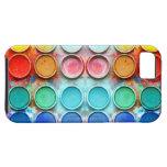 Caja de color de la pintura de la diversión iPhone 5 Case-Mate protectores