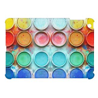 Caja de color de la pintura de la diversión iPad mini carcasas
