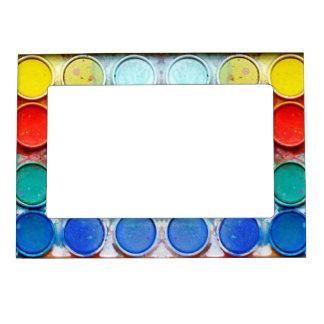 Caja de color de la pintura de la diversión marcos magneticos de fotos