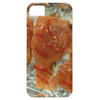 Caja de color salmón del iPhone 5 de los chiles iPhone 5 Fundas