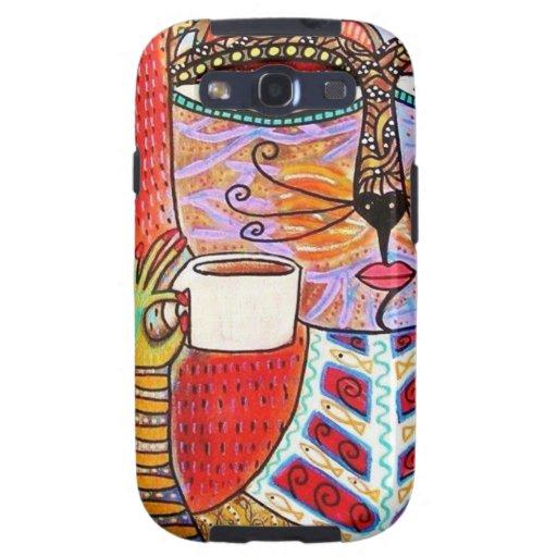 Caja de consumición del teléfono del café express samsung galaxy SIII funda