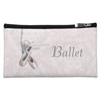 """Caja de cosméticos del """"ballet y del cordón"""""""