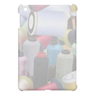 caja de costura del hilado del iPad