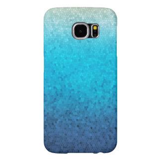 Caja de cristal del teléfono del mosaico del mar fundas samsung galaxy s6