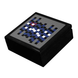 Caja de cuero del cuello cajas de joyas
