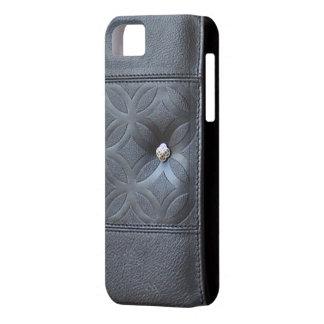 caja de cuero del diario - oscuridad del monedero  iPhone 5 Case-Mate carcasas