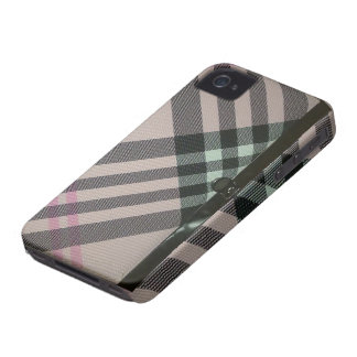 caja de cuero del diario - oscuridad del monedero iPhone 4 carcasa