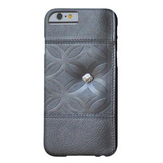 caja de cuero del diario - oscuridad del monedero funda de iPhone 6 slim