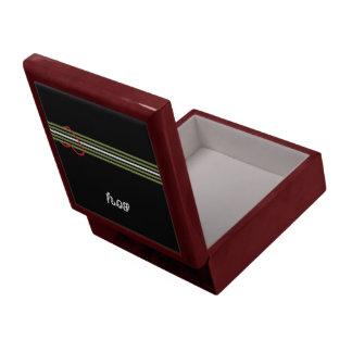 Caja de cuero del MUCHACHO Caja De Regalo