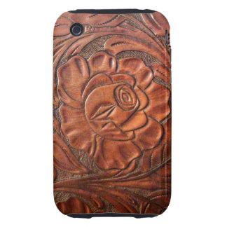 Caja de cuero equipada del teléfono de S Carcasa Resistente Para iPhone
