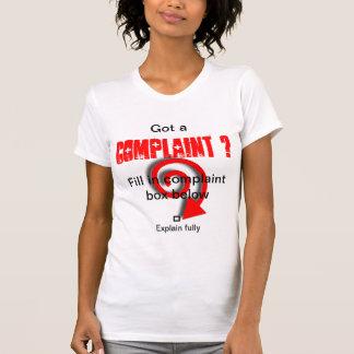 Caja de denuncia camiseta