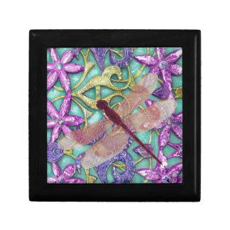 Caja de dios de la libélula caja de regalo