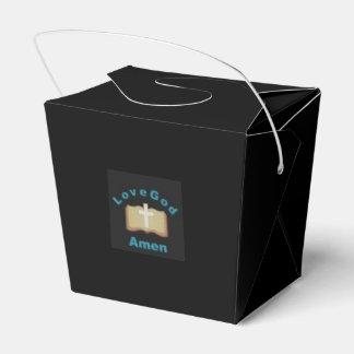 Caja de dios del amor amen cajas para regalos de boda