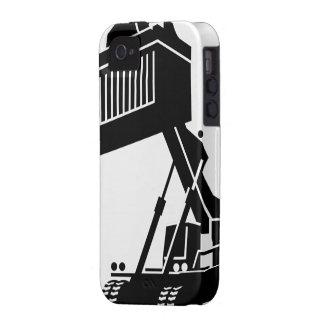 Caja de elevación pesada del iPhone iPhone 4 Carcasas