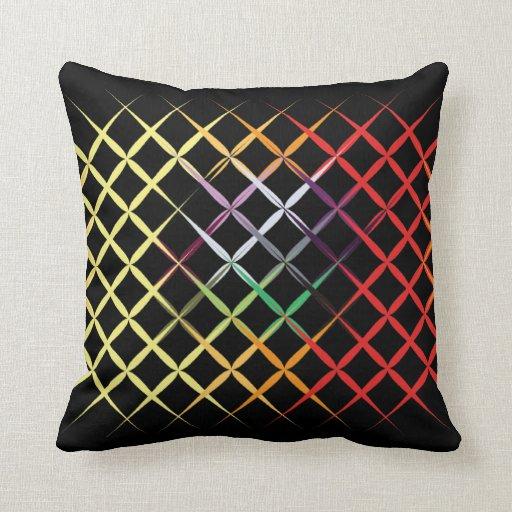 Caja de encargo cruzada de la almohada del color