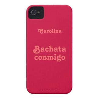 Caja de encargo de Blackberry de la danza latina d Case-Mate iPhone 4 Fundas