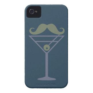 Caja de encargo de Blackberry del bigote de iPhone 4 Carcasa