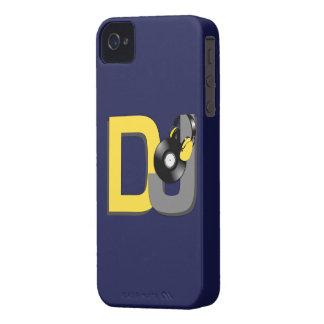 Caja de encargo de Blackberry del color de DJ iPhone 4 Carcasas