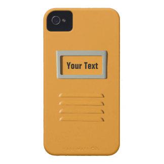 Caja de encargo de Blackberry del gabinete de iPhone 4 Case-Mate Protector