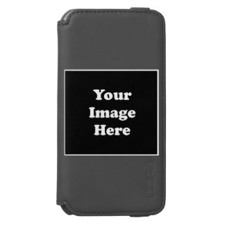 Caja de encargo de la cartera del iPhone 6 de Funda Cartera Para iPhone 6 Watson