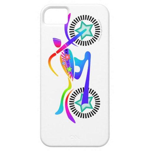 Caja de encargo de la casamata ID™ de la MOTOCICLE iPhone 5 Case-Mate Cárcasa