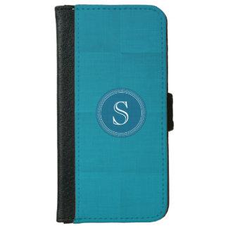 Caja de encargo de lino de la cartera de Iphone 6 Funda Cartera Para iPhone 6