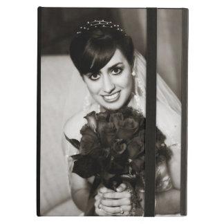 Caja de encargo del aire del iPad de la foto con