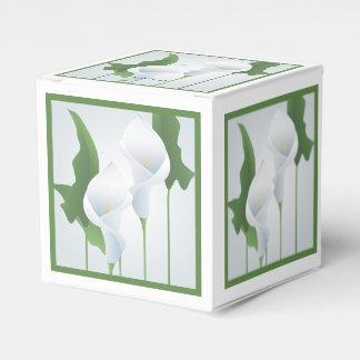 Caja de encargo del favor de fiesta de las calas cajas para regalos