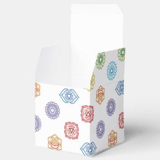 Caja de encargo del favor de la energía de Chakra Cajas Para Detalles De Boda
