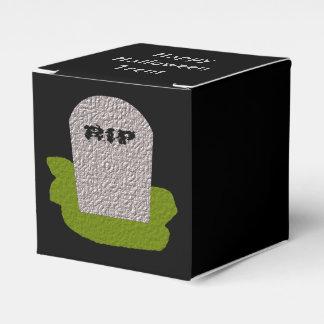 Caja de encargo del favor de la piedra sepulcral cajas para regalos
