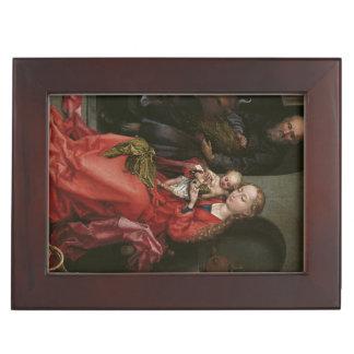 """Caja de encargo del recuerdo """"de la familia santa"""" caja de recuerdos"""