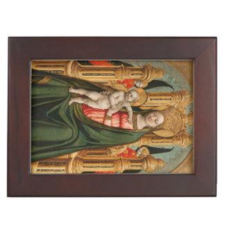 Caja de encargo del recuerdo de la Virgen y del Caja De Recuerdos