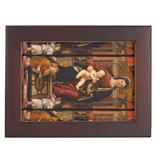 """Caja de encargo """"del recuerdo de la Virgen y del Caja De Recuerdos"""
