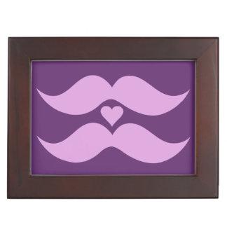 Caja de encargo del recuerdo de los bigotes caja de recuerdos